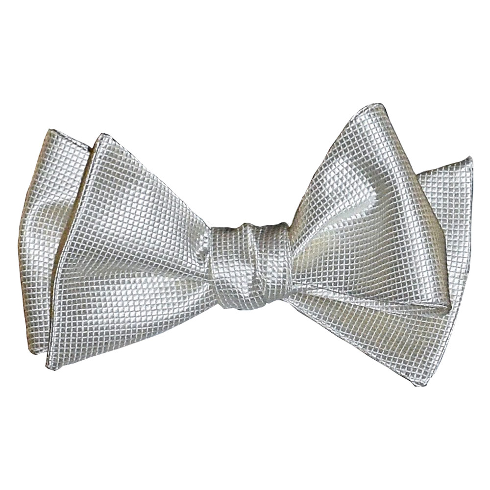 Off-White Bowtie with Texture - Tie Yourself