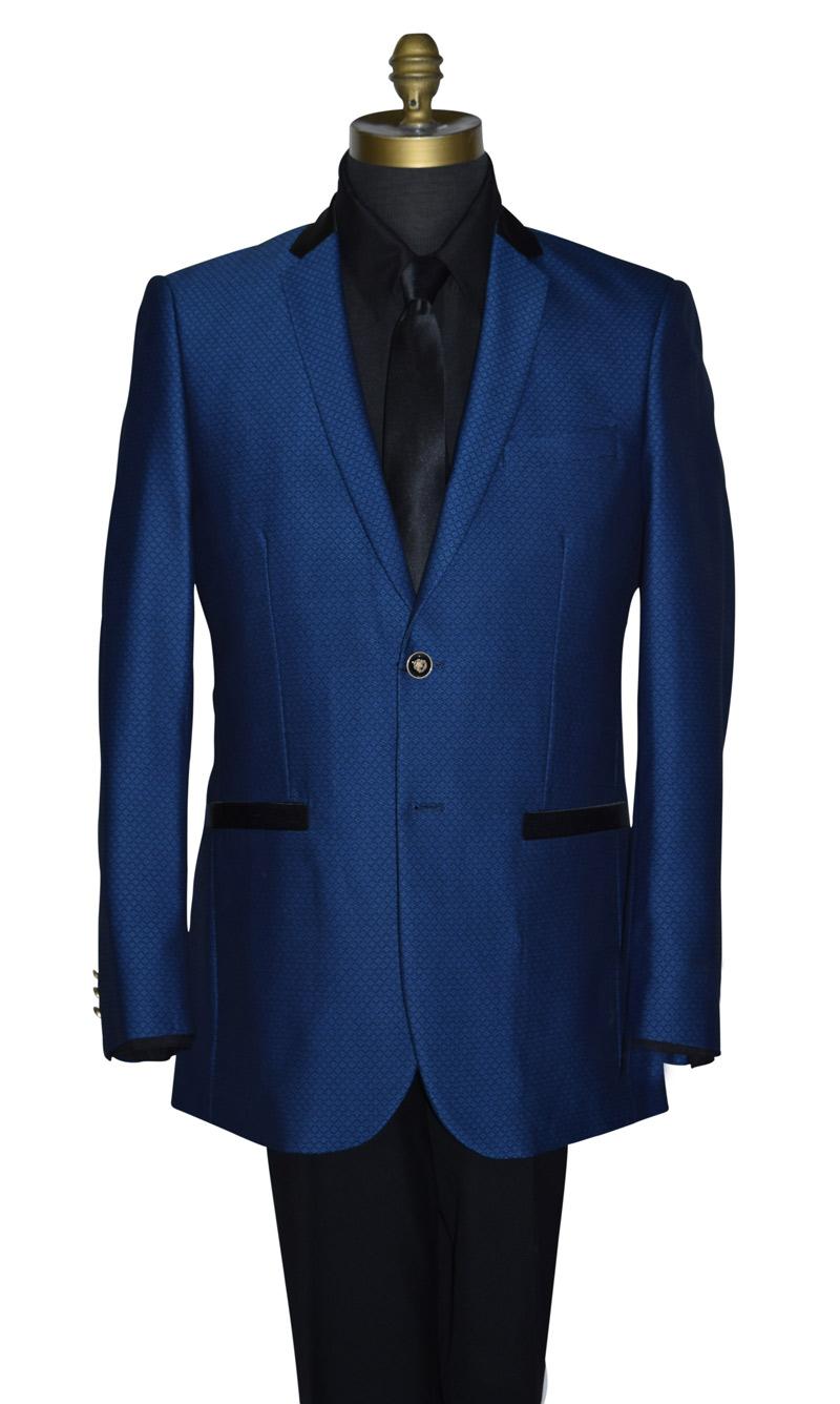 Sapphire Blue Tuxedo/Suit Coat Only