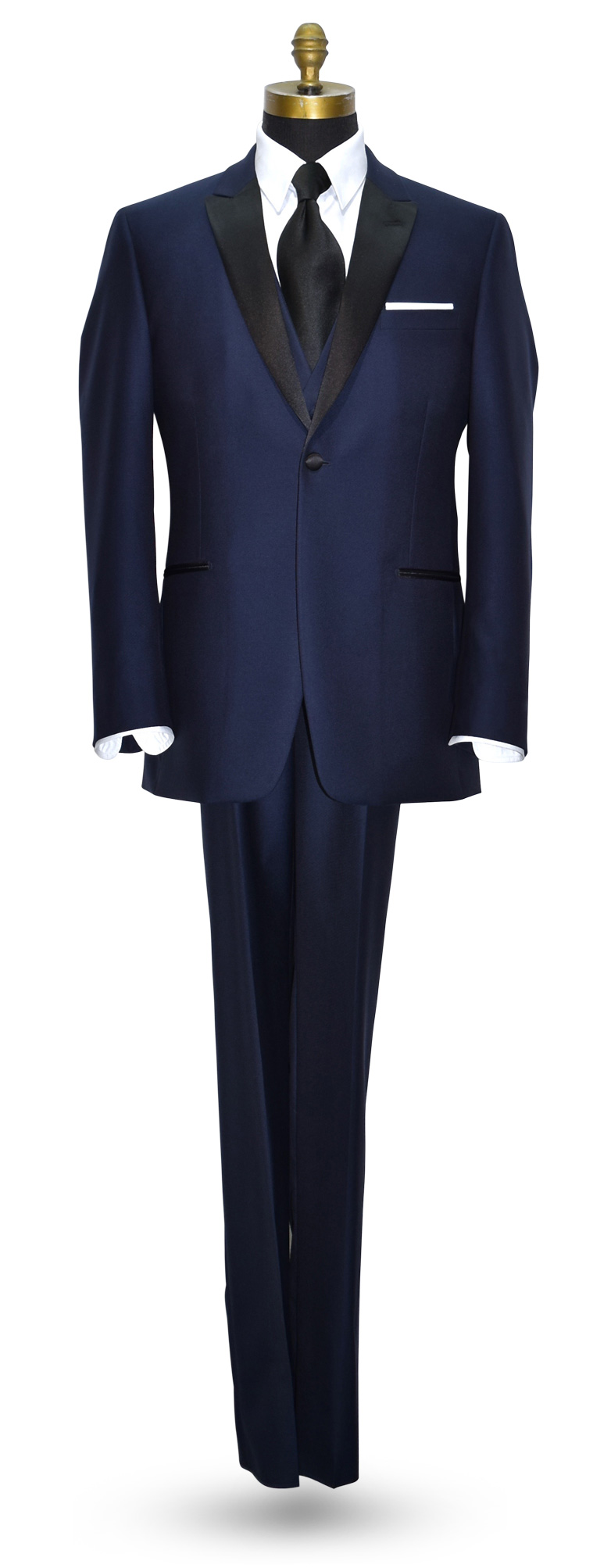 Navy Blue Tuxedo - Coat and Pants Only - Vest Optional