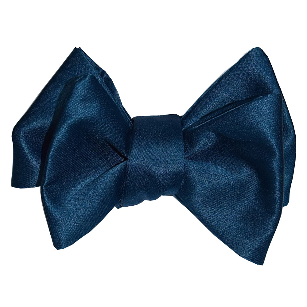 COMPLEMENTARY BLUE PEACOCK GREEN BOWTIE