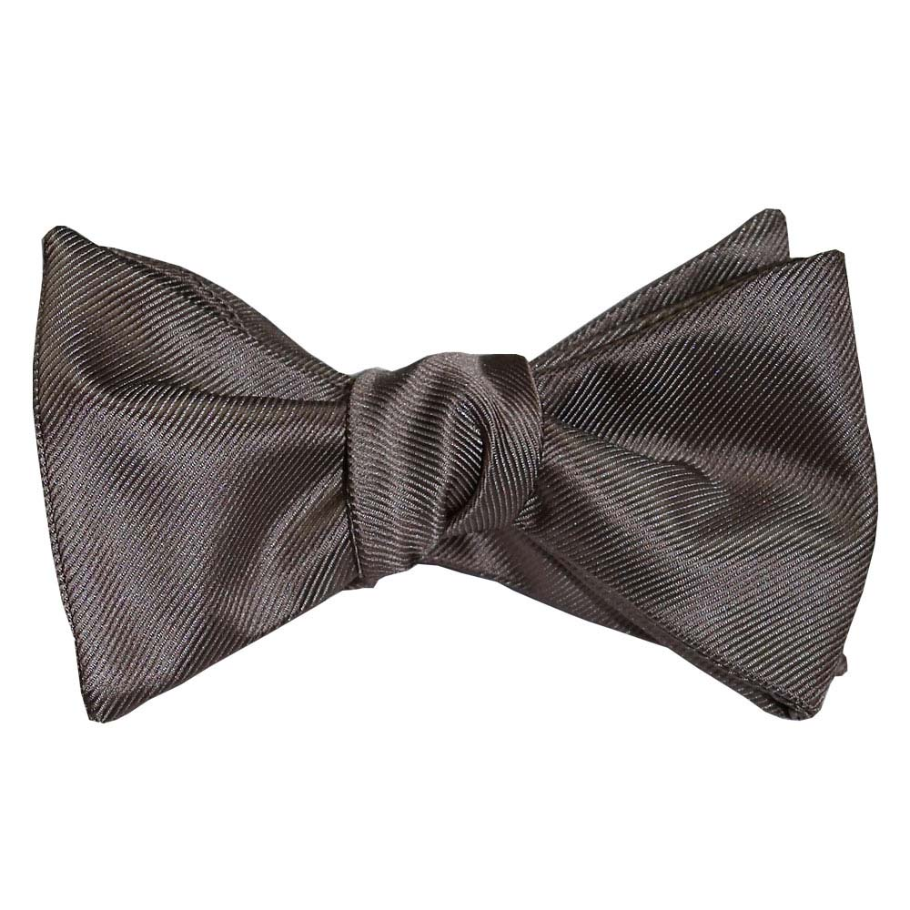 Stone Colored Bowtie, Tie-Yourself