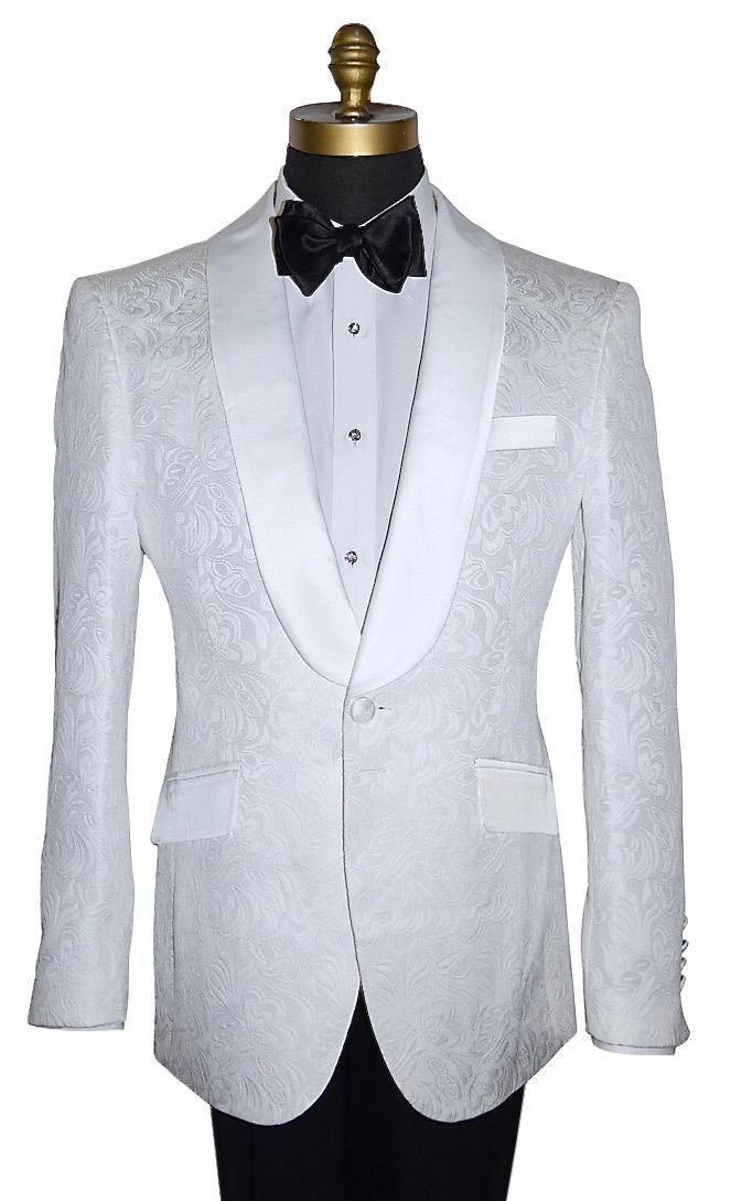 White Tuxedo Jacket Only