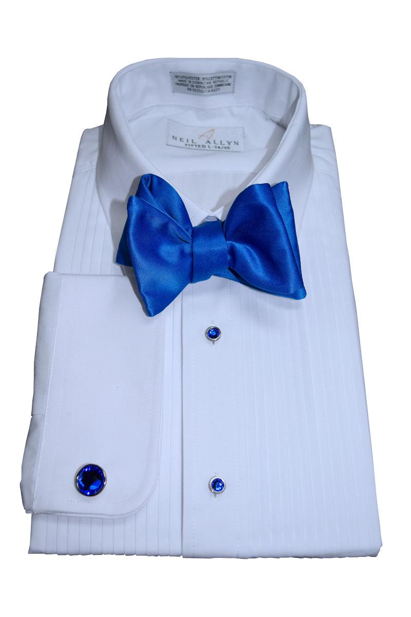 Royal Blue Bowtie, Tie-Yourself
