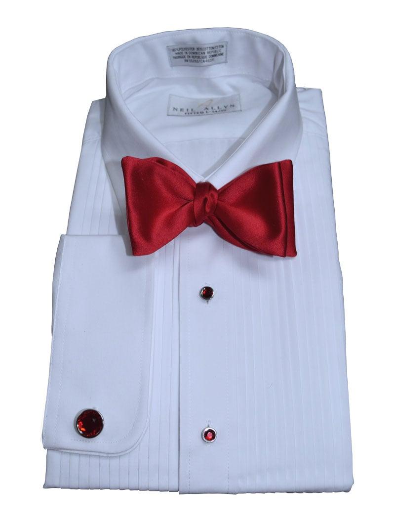 Red Satin Bowtie, Tie-Yourself