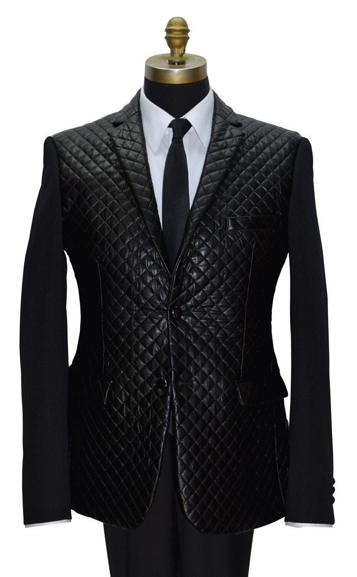 Black Quilted Jacket Only