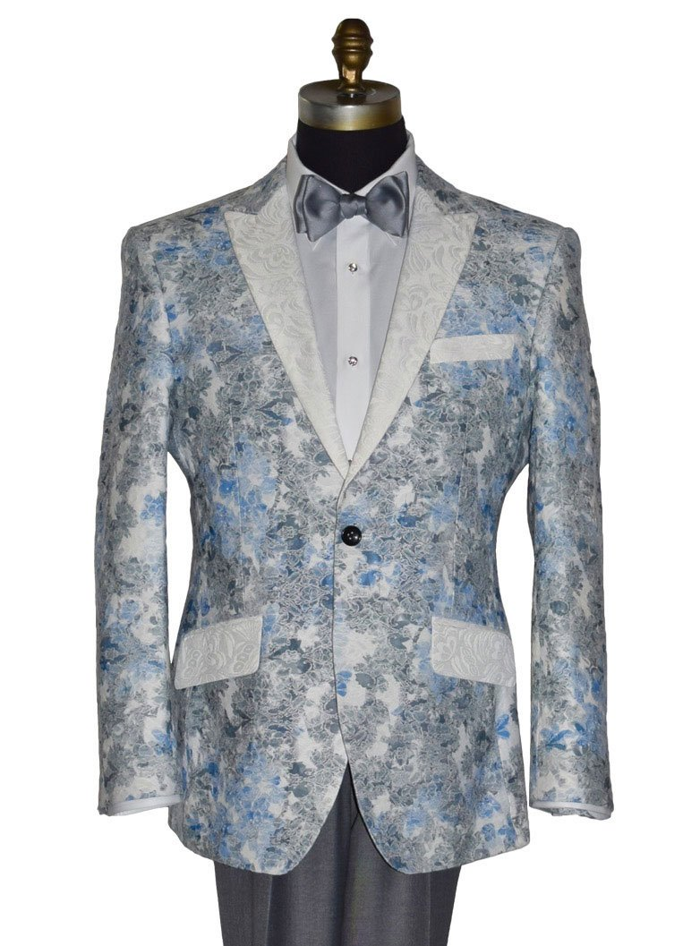 Blue Dream Tuxedo Coat