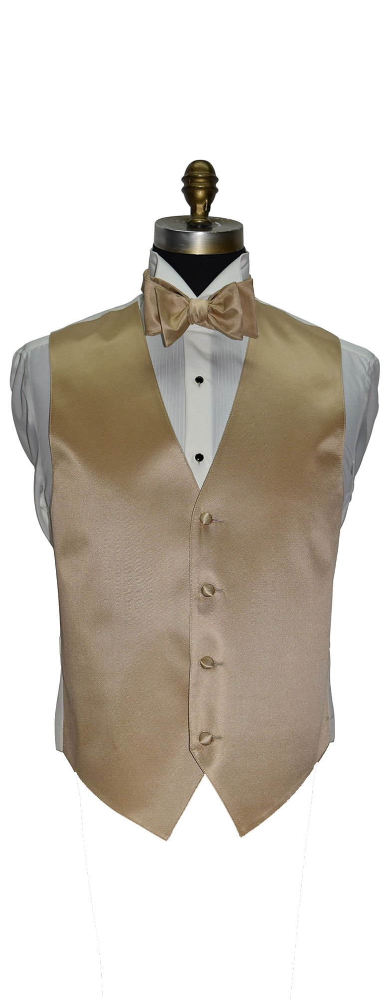 Golden Tuxedo Vest