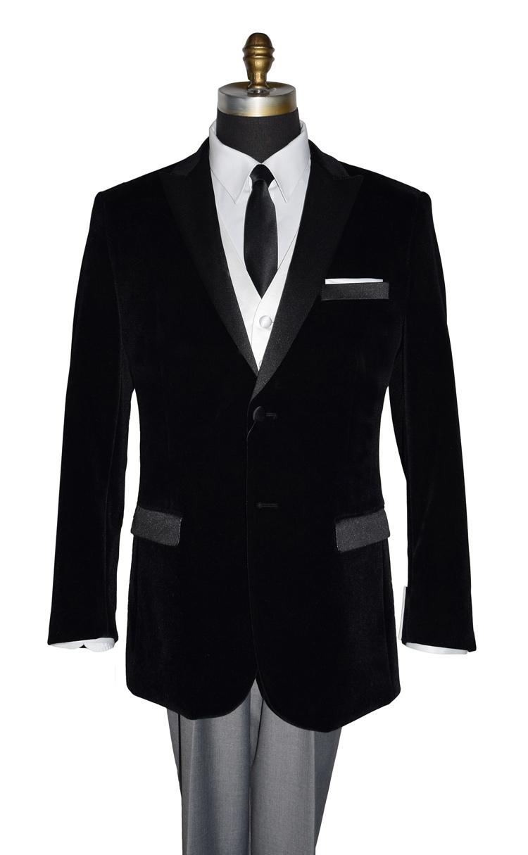Black Velvet Dinner Jacket/Tuxedo Jacket Only