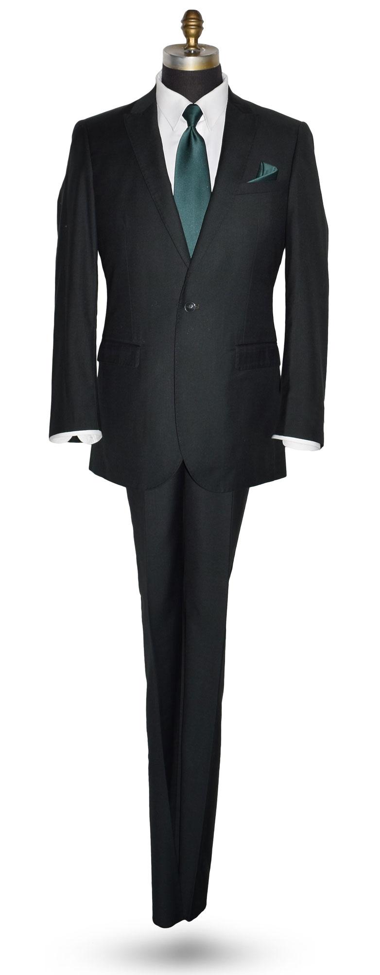 Hunter Green Tuxedo Coat and Pants Set