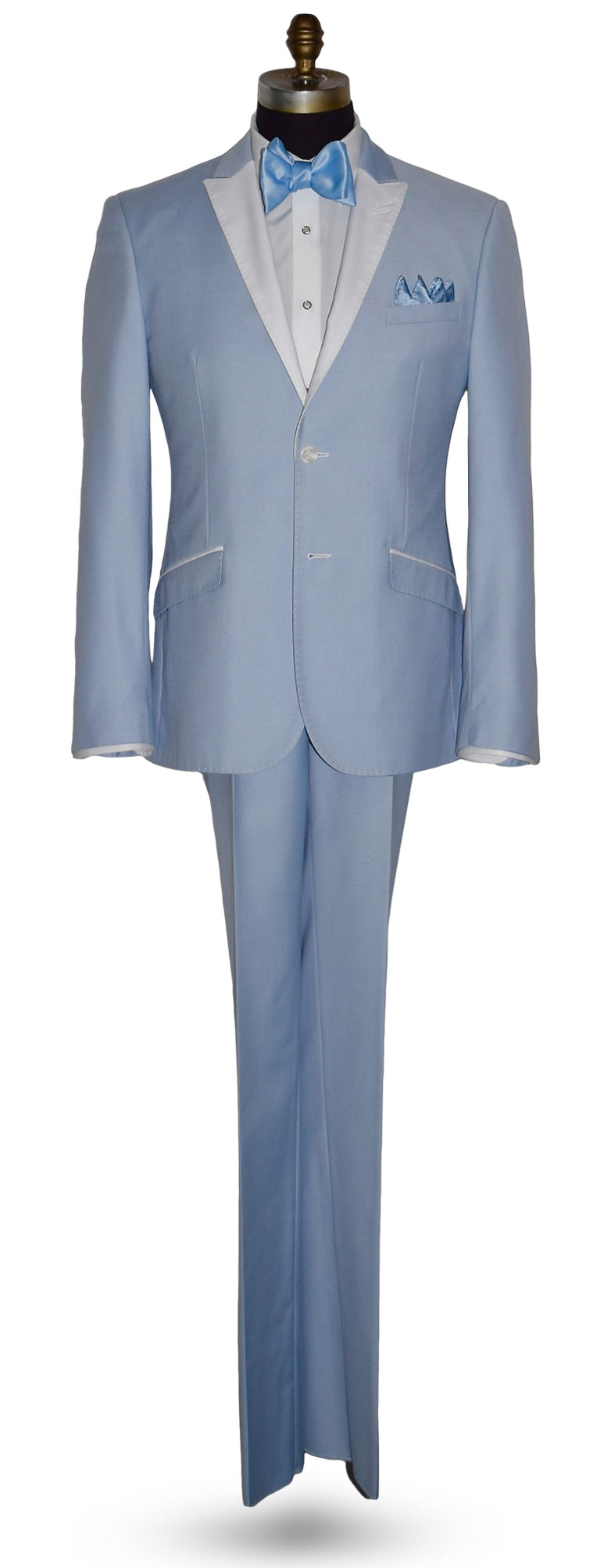 Powder Blue Tuxedo With Baby Blue Pants-Very Nice!