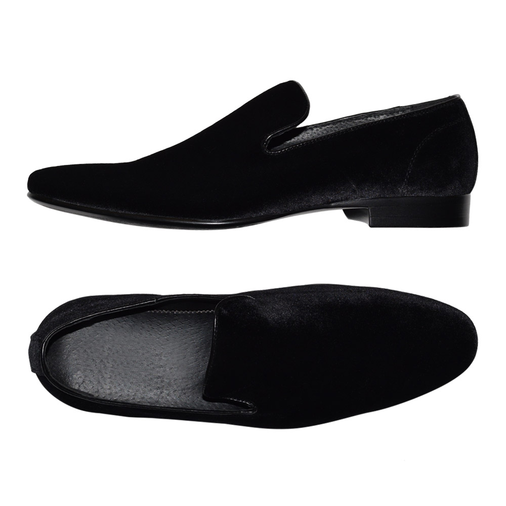 Very Comfortable Velvet Slip-on Men's Shoes