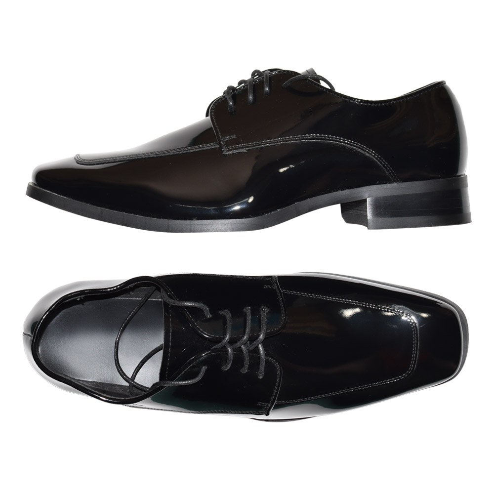 Lace-Up Tuxedo Shoes