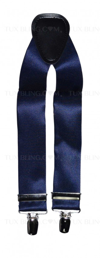 navy-blue suspenders