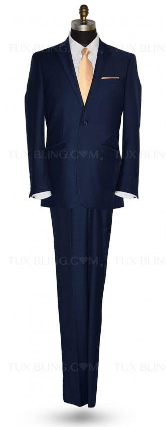 Catalina Blue Suit Coat and Pants Ensemble