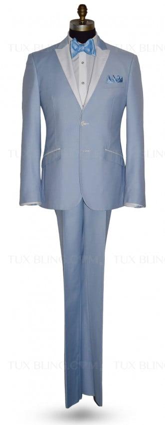Powder Blue Tuxedo Ensemble