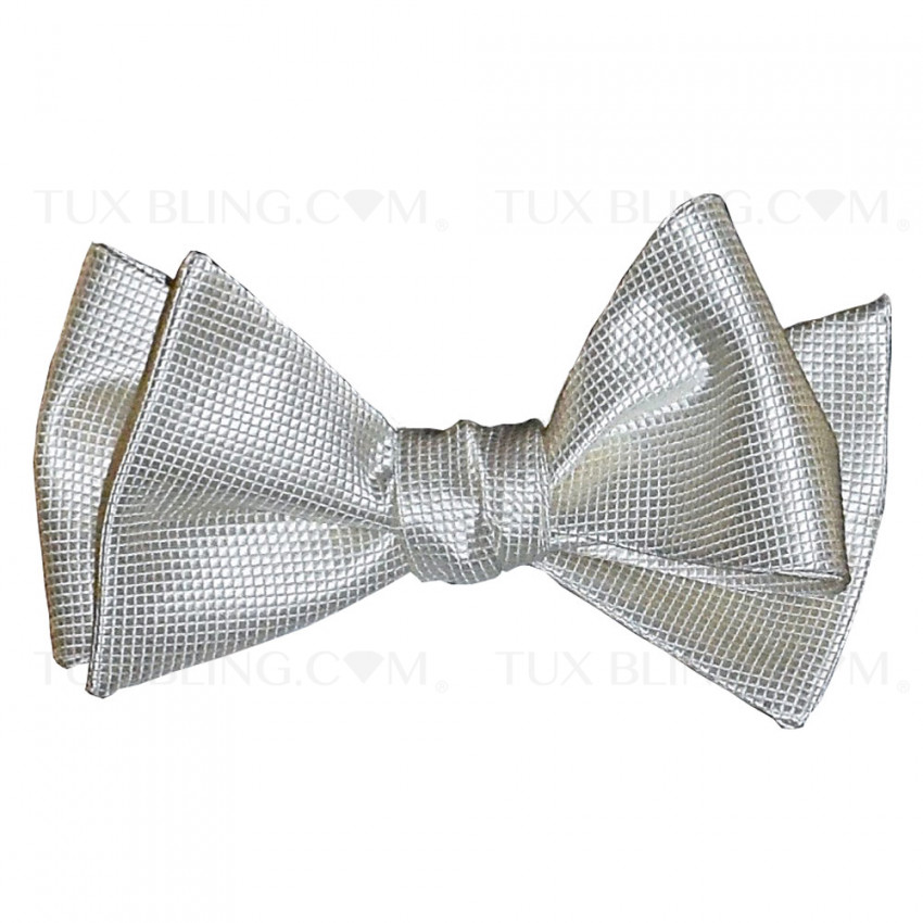 OFF-WHITE PIQUE BOWTIE -TIE YOURSELF