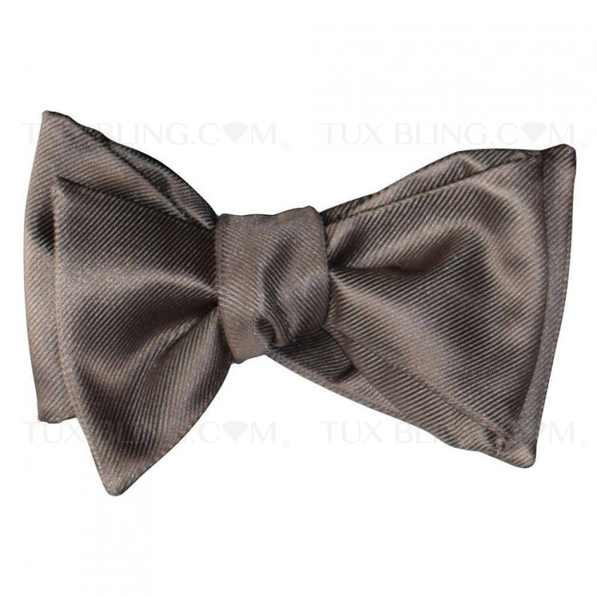 STONE COLOR BOWTIE  - TIE YOURSELF