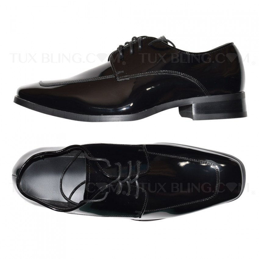 BLACK TUXEDO SHOES - UPDATED CLASSIC