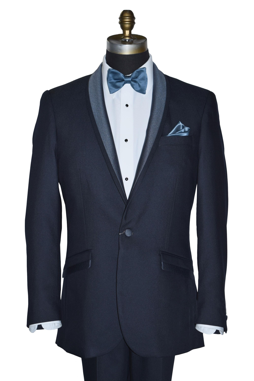 Serene Blue Tuxedo Ensemble