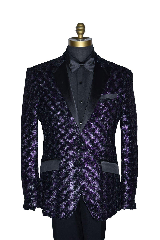 Purple Onyx Tuxedo Ensemble