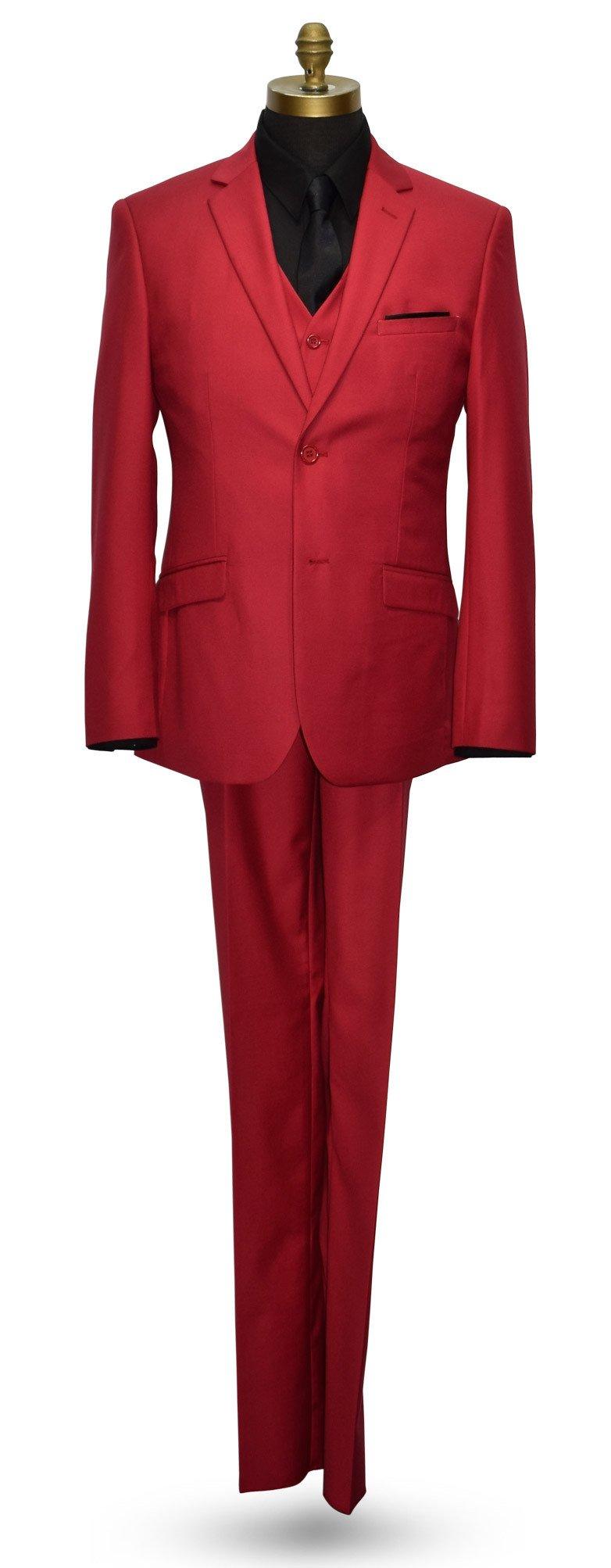 Cardinal Red Suit - 3 Piece