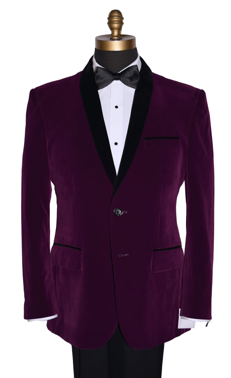 Viola Velvet Dinner Jacket Ensemble