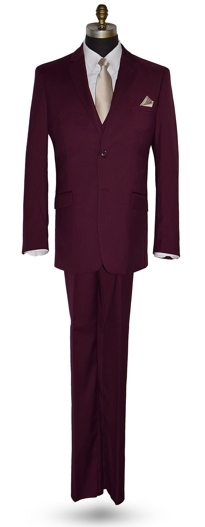 Sangria 3 Piece Suit -Coat, Pants and Vest Ensemble