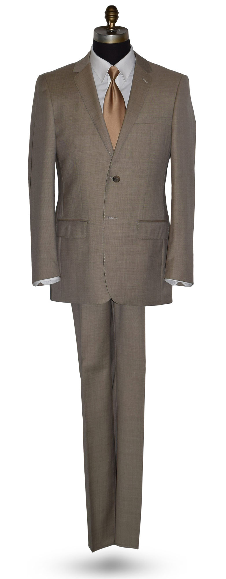 Biscotti Tan Suit - Cashmere and Super Fine Wool