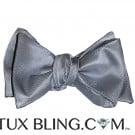 Silver Bowtie - Tie Yourself