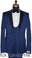 44 Regular Coat, 38 Waist Pants, Vest