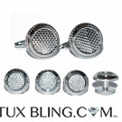 BOLD CUFFLINKS AND STUDS FORMAL SET