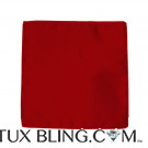VALENTINA - RUBY RED POCKET HANDKERCHIEF