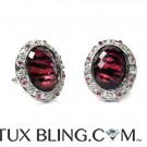 Ruby Jubilee Bling Cufflinks