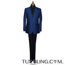 Sapphire Blue Tuxedo/Suit Ensemble