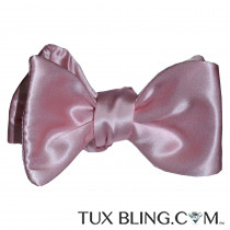 Pink Silk Bowtie-Tie Yourself