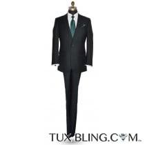 Hunter Green Suit Coat and Pants Ensemble