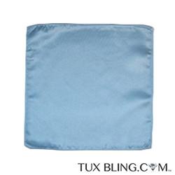 CAPRI BLUE POCKET HANDKERCHIEF