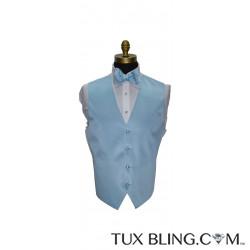 Capri Baby Blue Tuxedo Vest