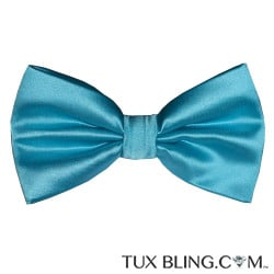 TURQUOISE 2 BOWTIE, PRE-TIED