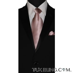 BALLET-ROSE SILK DRESS TIE