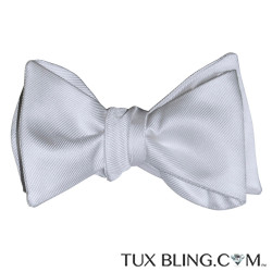 WHITE BOWTIE, TIE YOURSELF