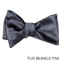 CHARCOAL BOWTIE, TIE-YOURSELF