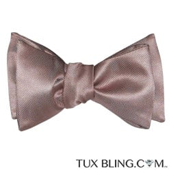 ROSE GOLD BOWTIE, TIE YOURSELF