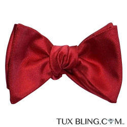 Valentina Ruby Red Bowtie, Tie Yourself