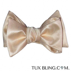 CHAMPAGNE BOWTIE, TIE-YOURSELF
