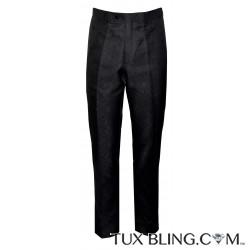 PAISLEY BROCADE DRESS PANTS