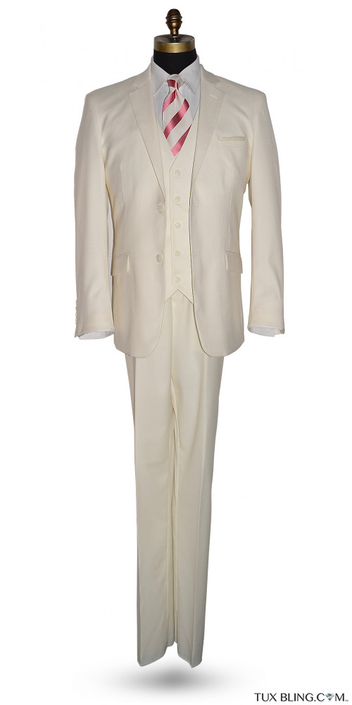 OFF-WHITE MEN'S 3 PIECE SUIT