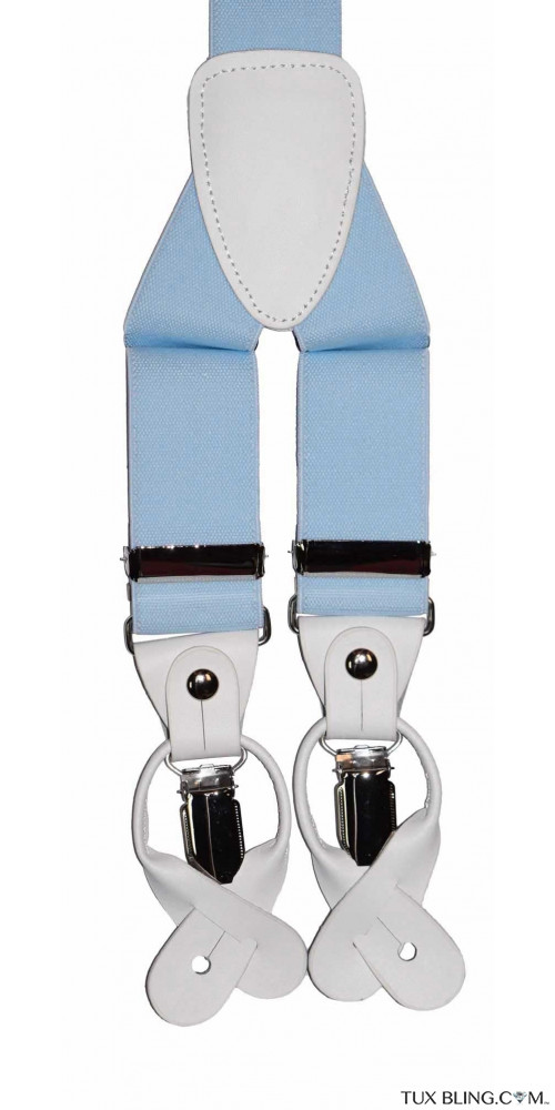 BABY BLUE SUSPENDERS