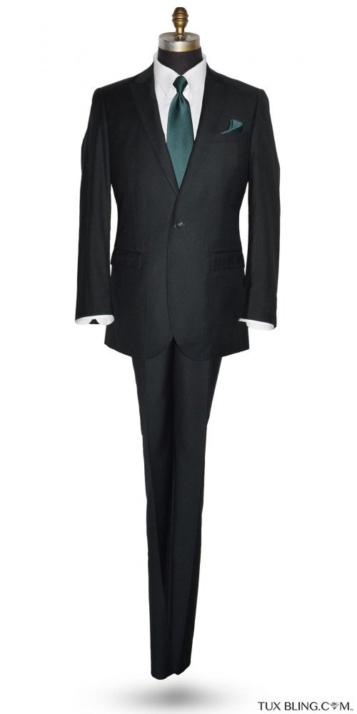 Hunter Green Suit Coat and Pants Ensemble