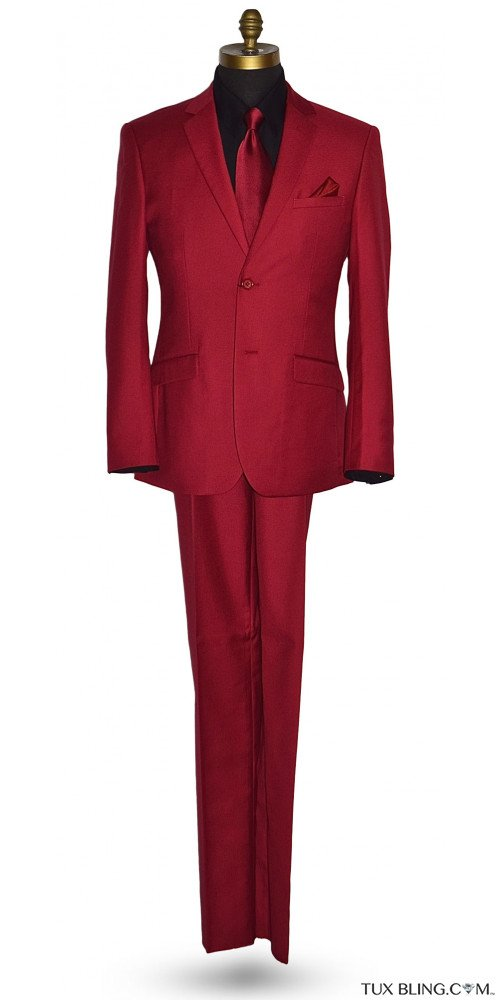 Cardinal Red Suit - 3 Piece